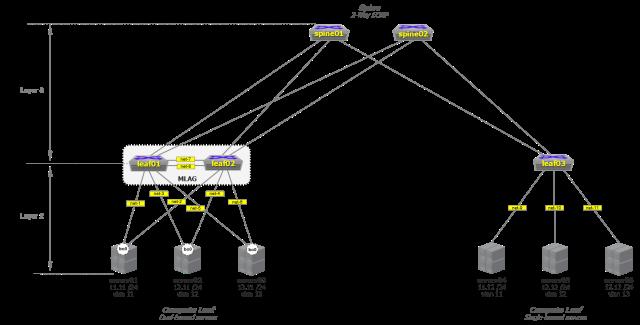 Layer2 Leaf-Compute Network