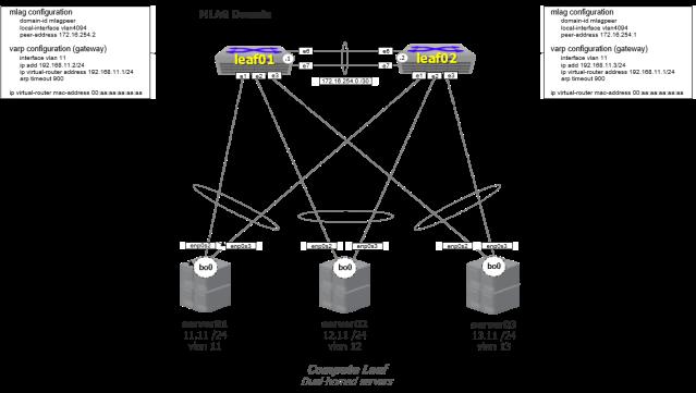 MLAG Domain Diagram