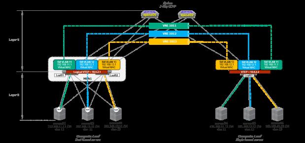 VXLAN Overlay Networks