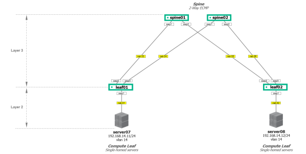 cumulus-vx connectivy diagram